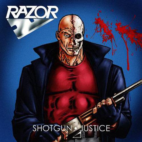 CD Razor - Shotgun Justice - Slipcase - Lacrado