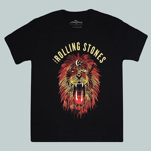 Camiseta The Rolling Stones - Lyon - Stamp