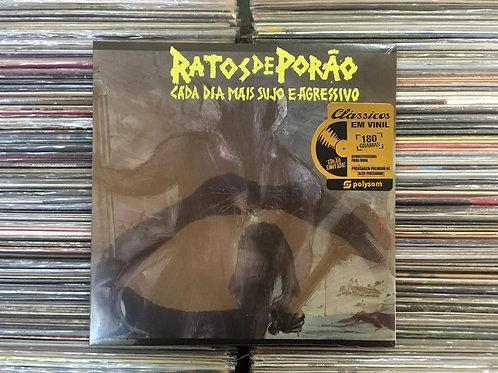 LP Ratos De Porão - Cada Dia Mais Sujo E Agressivo - Lacrado