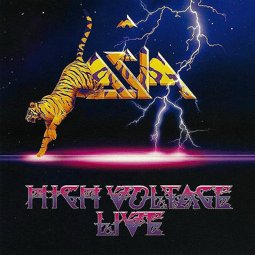 CD + DVD Asia - High Voltage Live - Importado - Lacrado
