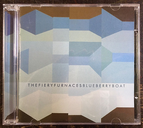 CD The Fiery Furnaces - Blueberry Boat