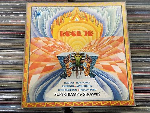 LP Rock 70 - Supertramp, Strawbs, Peter Frampton... - Capa Dupla