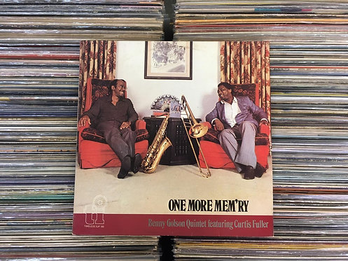 LP Benny Golson Featuring Curtis Fuller - One More Mem'ry