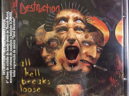 CD Destruction - All Hell Breaks Loose - Lacrado