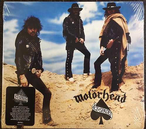 CD Motörhead - Ace Of Spades - 40th Anniversary - Digipack - Lacrado