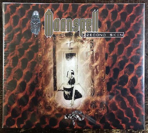 CD Moonspell - 2econd Skin - Duplo - Digipack - Lacrado