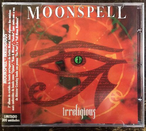 CD Moonspell - Irreligious - Lacrado - Relançamento 2021