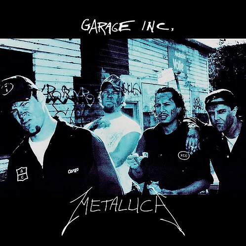 CD Metallica - Garage Inc. - Duplo - Lacrado