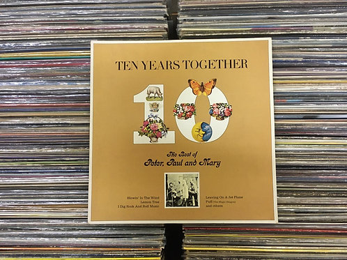 LP The Best Of Peter, Paul And Mary: Ten Years Together