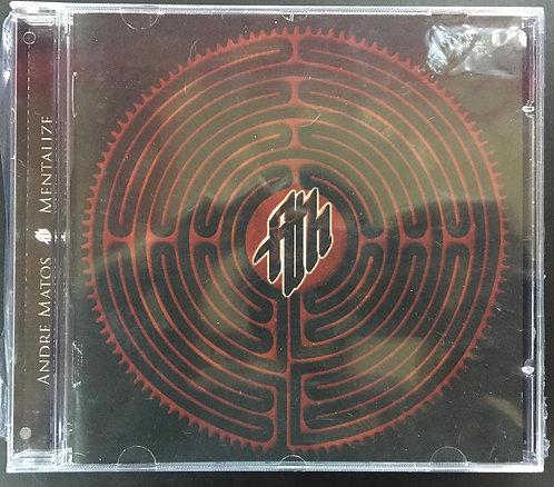 CD Andre Matos - Mentalize - Importado - Lacrado