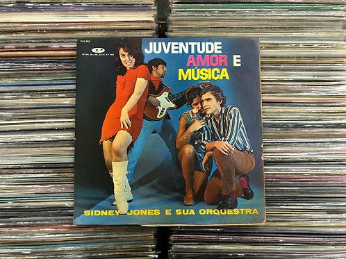 LP Sidney Jones - Juventude, Amor e Música