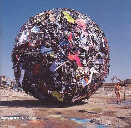 CD Anthrax - Stomp 442 - Lacrado
