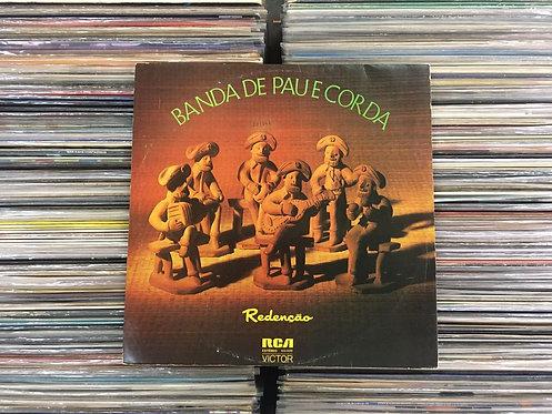 LP Banda De Pau E Corda - Redenção