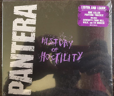 CD Pantera - History Of Hostility - Digipack - Lacrado