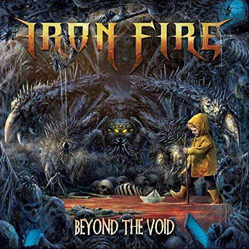 CD Iron Fire - Beyond The Void - Lacrado