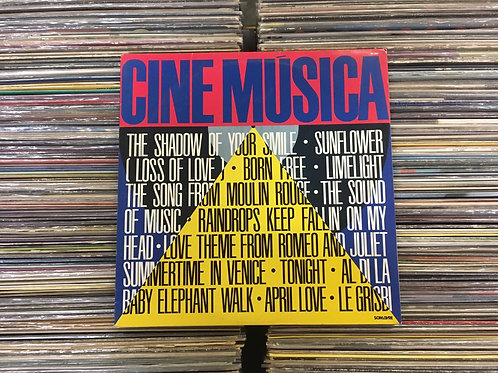 LP Cine Música - Trilhas Sonoras/Soundtrack