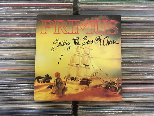 LP Primus - Sailing The Seas Of Cheese - C/encarte