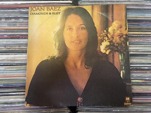 Lp Joan Baez - Diamonds & Rust - C/ Encarte