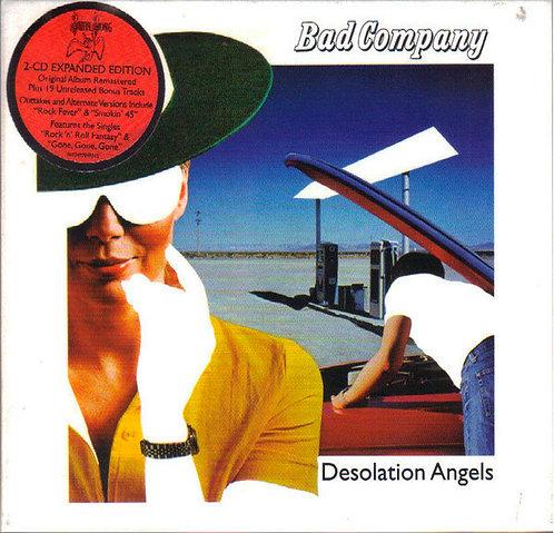 CD Bad Company - Desolation Angels - Duplo - Digipack - Lacrado