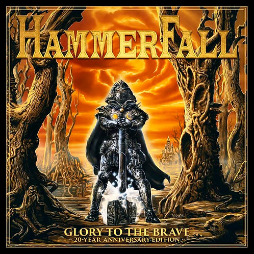 CD Hammerfall - Glory To The Brave - 20 Year Anniversary Edition - Duplo + DVD
