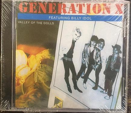 CD Generation X - Valley Of The Dolls - +Bônus / Importado - Lacrado