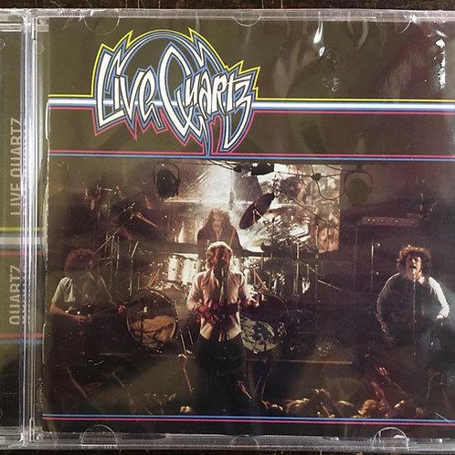 CD Quartz - Live Quartz - Lacrado