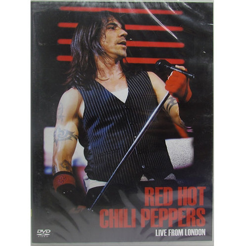 DVD Red Hot Chili Peppers - Live From London - Lacrado