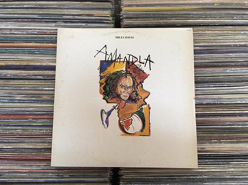 LP Miles Davis - Amandla - Com Encarte