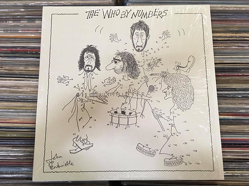 LP The Who - The Who By Numbers - Importado / 180g
