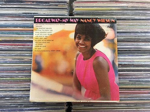 LP Nancy Wilson - Broadway - My Way - Importado
