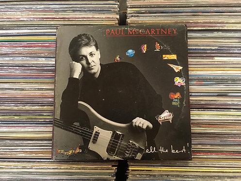 LP Paul McCartney - All The Best - Duplo - Com Encartes