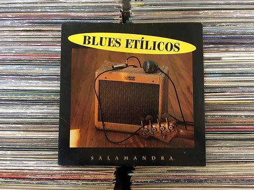 LP Blues Etílicos - Salamandra - Com Encarte