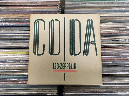 LP Led Zeppelin - Coda - Importado - Capa Dupla - C/ Encarte