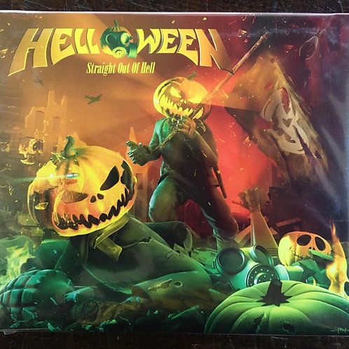 CD Helloween - Straight Out Of Hell - Digipack - Lacrado