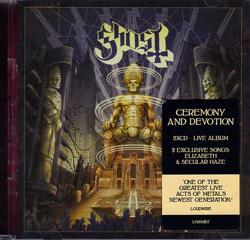 CD Ghost - Ceremony And Devotion - Duplo - Importado - Lacrado