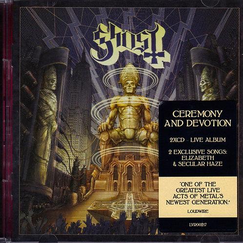 CD Ghost - Ceremony And Devotion - Duplo - Importado - Lacrado