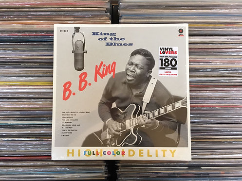LP B.B. King - King Of The Blues - Importado - 180g