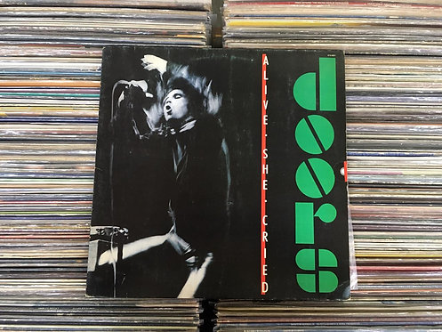 LP The Doors - Alive, She Cried