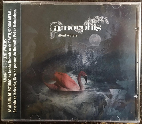 CD Amorphis - Silent Waters - Lacrado