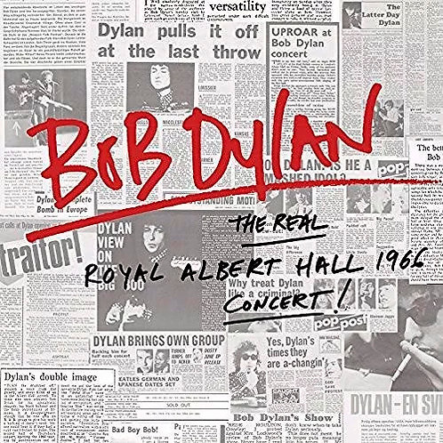 CD Bob Dylan - The Real Royal Albert Hall 1966 Concert - Duplo - Lacrado