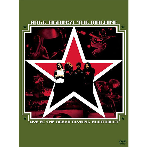 DVD Rage Against The Machine - Live At The Grand Olympic A..
