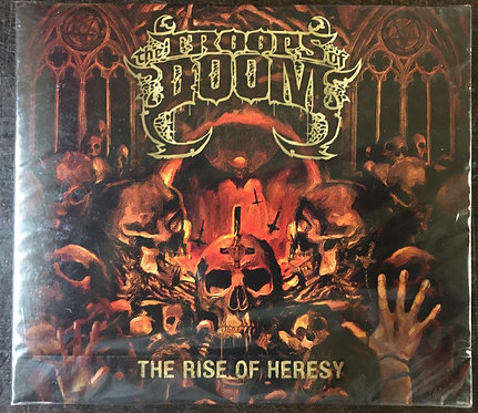 CD The Troops Of Doom - The Rise Of Heresy - Slipcase - Lacrado