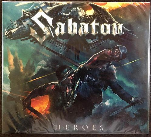 CD Sabaton - Heroes - Digipack - Lacrado