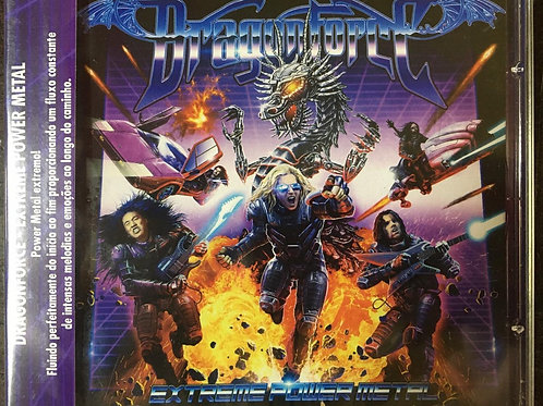 CD Dragonforce - Extreme Power Metal - Lacrado