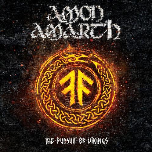 DVD Duplo + CD Amon Amarth - The Pursuit Of Vikings- Lacrado