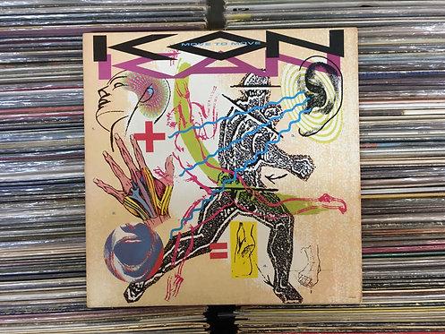 LP Kon Kan - Move To Move - Com Encarte