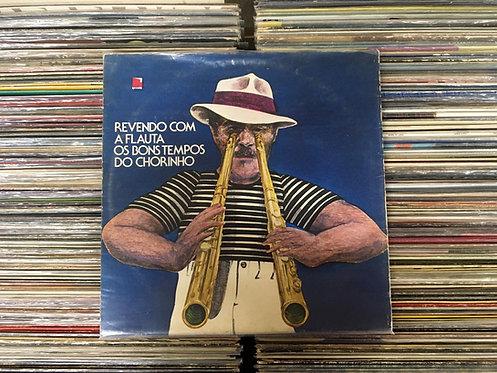 LP Carlos Poyares - Revendo Com A Flauta Os Bons Tempos Do Chorinho - Capa Dupla