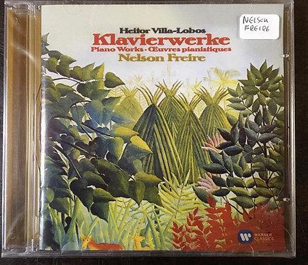 CD Nelson Freire - Villa-lobos: Piano Works - Lacrado