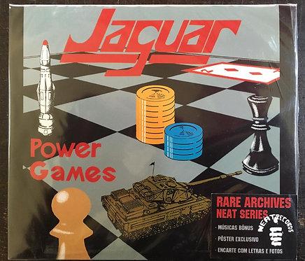 CD Jaguar - Power Games - Slipcase - Lacrado
