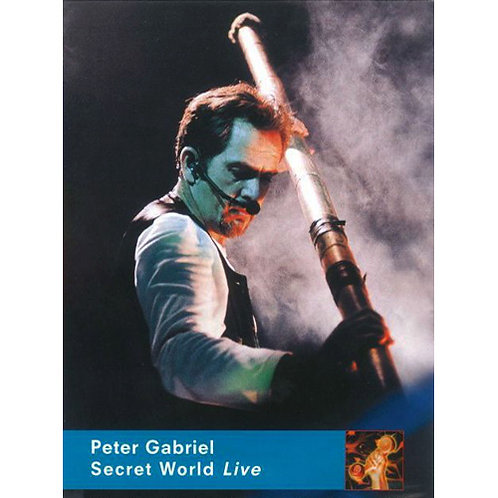 DVD Peter Gabriel - Secret World Live - Lacrado